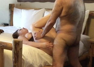 Poking the pretty Cougar in a motel