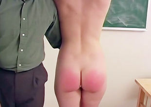 Nice Damsel student Enjoys To Be Slapped