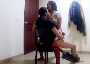Pulverizing red-hot student from..