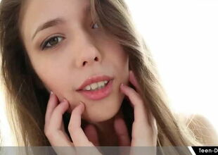 Attracting Teen Mila Azul Be sorry for..