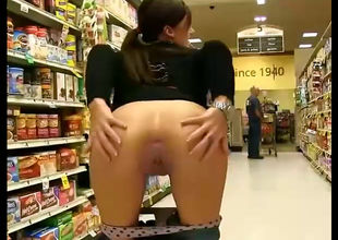 Teen nudist display coochie and  in a..
