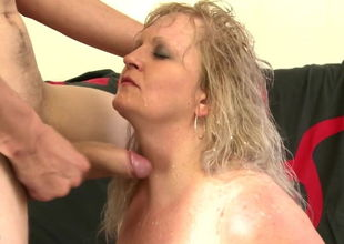 Big-titted mom humps successful home..