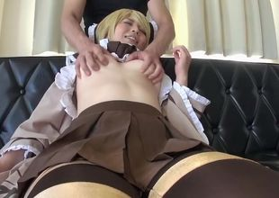 Outstanding oriental Yukie having a..